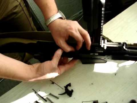 Миниатюрное оружие в действии mov
