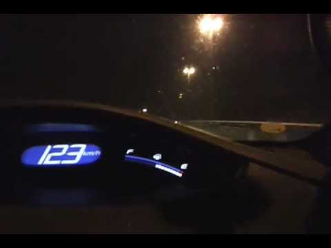 Galaxy s2 video test night highway on Malaysia (MEX Putrajaya)