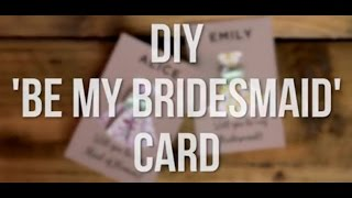 Download Lagu Will You Be My Bridesmaid? DIY Printable Origami Cards Gratis STAFABAND