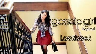 GOSSIP GIRL LOOKBOOK | BLAIR WALDORF, VANESSA ABRAMS, SERENA VAN DER WOODSEN OUTFITS