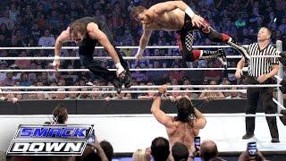 Dean Ambrose & Sami Zayn vs. Seth Rollins & Kevin Owens: SmackDown, July 14, 2016