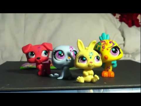 Littlest Pet Shop: Unboxing: Blind Bags (2871, 2873, 2886, 2865)