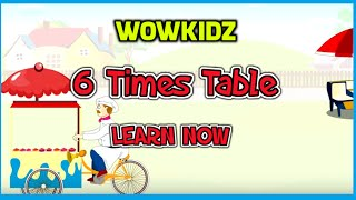 Musical tables - 6 Times Table - HD