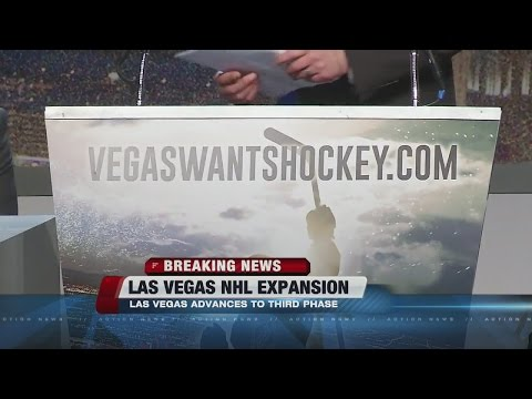 Las Vegas, Quebec City advance in NHL expansion process