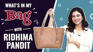 What's In My Bag With Ridhima Pandit | Bag Secrets Revealed | India Forums