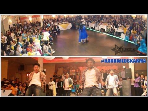 Nepali   Hindi Group Dance || Wedding Video (flash Mob Style) video