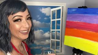 Wine and Paint Video with Mommy T