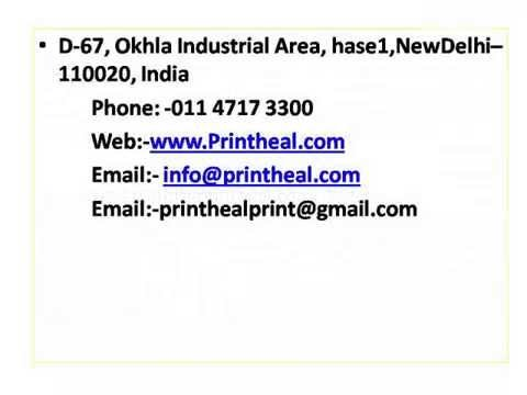 Offset Printing Digital Printing
