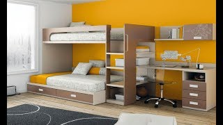 32 Bunk Bed Idea for Modern Kid's Bedroom- Plan n Design