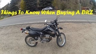 Things To Know When Buying A DR-Z400S