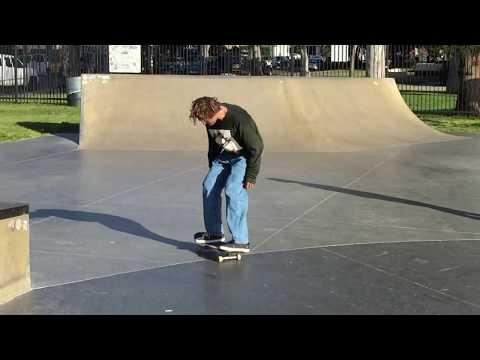 Sebo Walker Nollie 360 Kickflip at Stoner Park