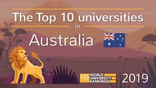 Meet Australia's Top 10 Universities 2019