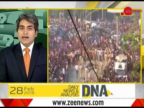 DNA: India bids final goodbye to Sridevi; The legendary actress cremated with state honours