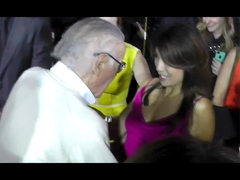 Agents of SHIELD's Ming-Na Wen Meets Stan Lee