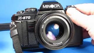 Minolta X 570 Camera Testing
