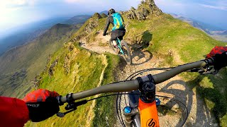 What are we getting into? | Mountain Biking Snowdon
