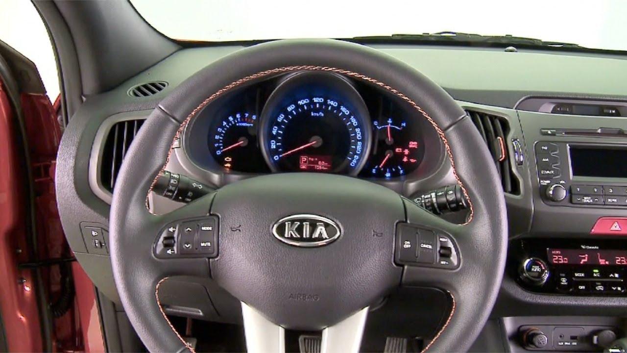 2012 Kia Sportage Interior Youtube
