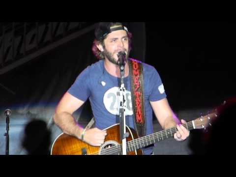Thomas Rhett that Ain't My Truck Tulsa Ok 9 28 14 video