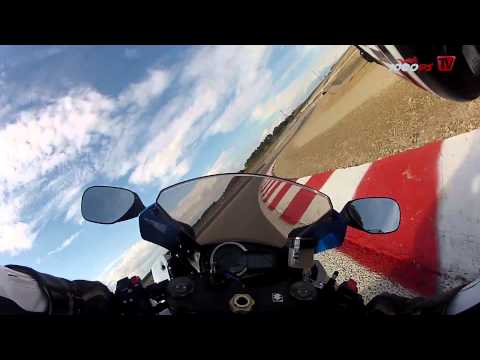 Suzuki GSX-R 1000 onboard video at Racetrack Alcarraz