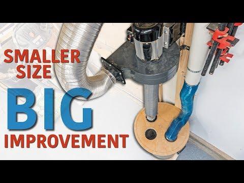 Dust Collector Upgrade | Separator & Exhaust.