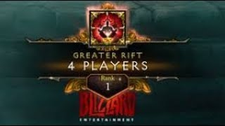 Diablo 3 | GR150 4 Players | Rank 1 EU ( 12:53 - Barb PoV )