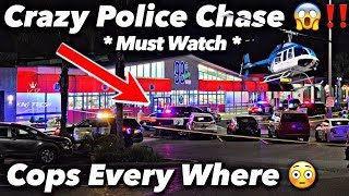 The Most Wildest Police Chase Ever | Raw Footage
