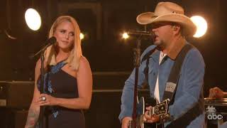 Download Jason Aldean Miranda Lambert Deliver Aching CMA Awards Performance MP3