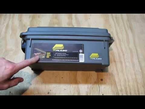 plano 1212 shotshell storage box