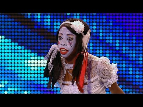 Geisha Davis Sings Humpty Dumpty - Britain's Got Talent 2012 Audition - International Version video