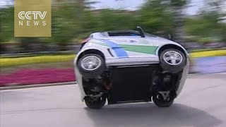 Electric car challenge competition held in China