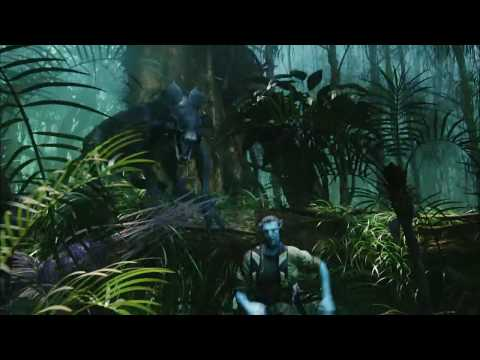Avatar Movie Clip - Thanator Chase HD.avi