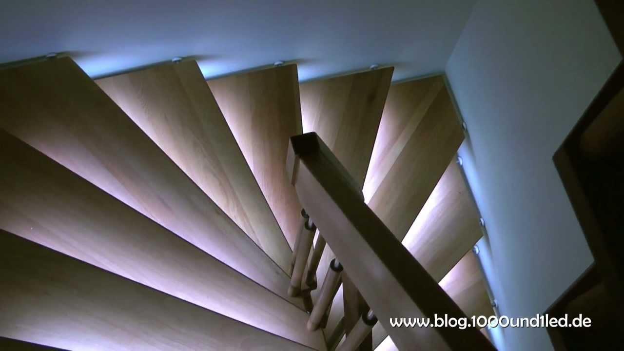 led treppenbeleuchtung teil 2 led stair lighting part 2 youtube. Black Bedroom Furniture Sets. Home Design Ideas