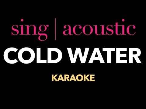 Justin Bieber ft. Major Lazer - Cold Water (Karaoke/ Instrumental)