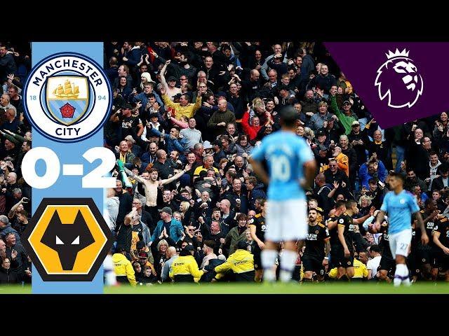 HIGHLIGHTS | Man City 0-2 Wolves | Traore (2) thumbnail