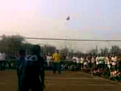 world class gujarat (surat) shooting volleyball match