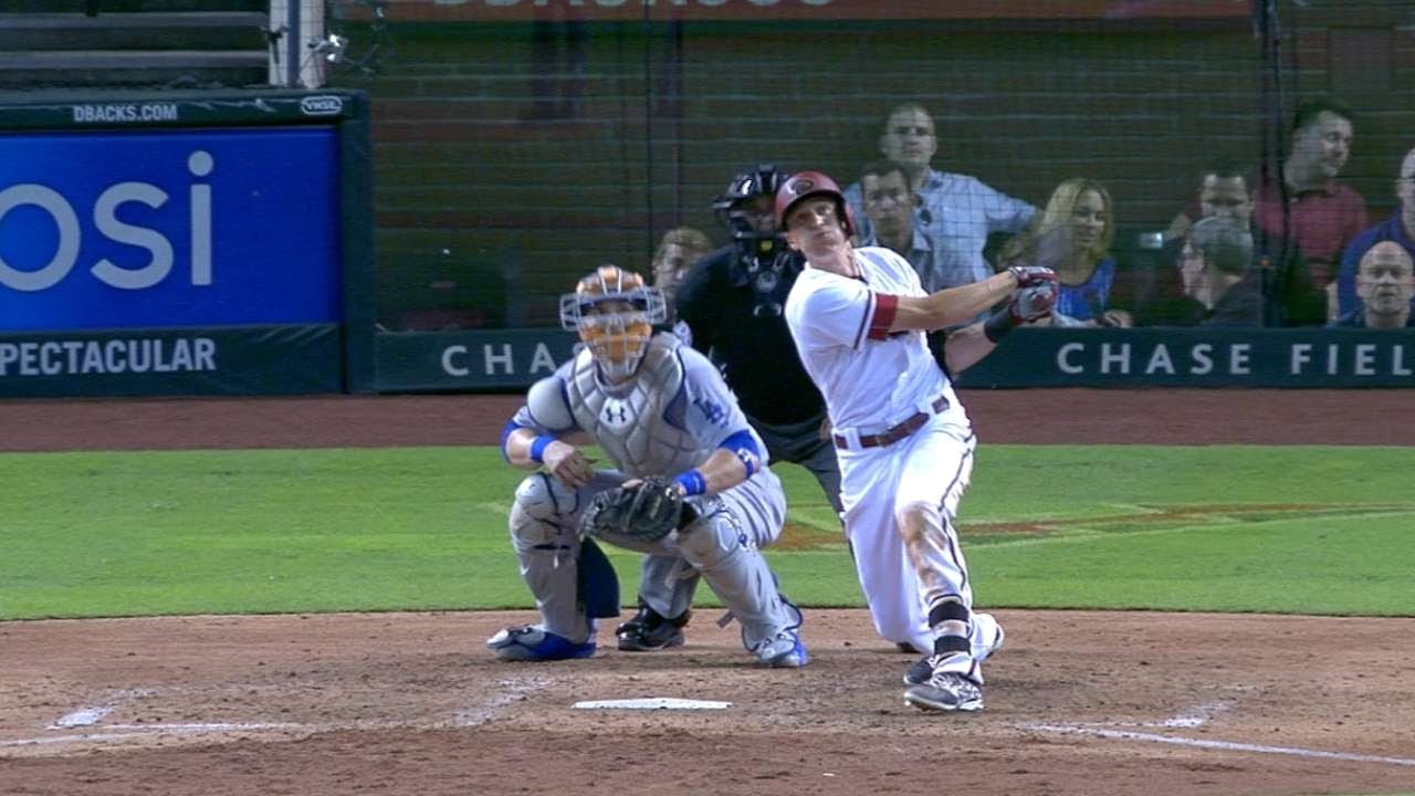 6/29/15: D-backs put up 10 to take win over Dodgers