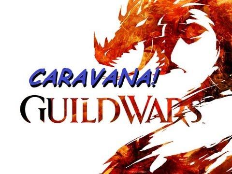 Guild Wars 2 - Proteja a caravana
