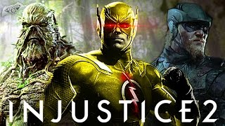 Injustice 2 - Entire Character Roster Leaked?!