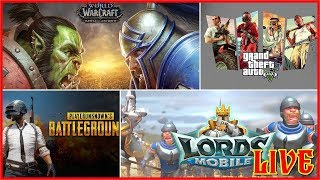 Guild Fest Lords Mobile + World of Warcraft Nightborn Leveling