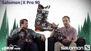 2016 Salomon X Pro 80 90 100 120 And 130 Mens Boot Overview By Skisdotcom
