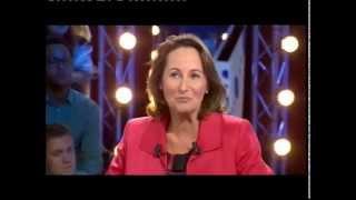 Ségolène Royal - On n'est pas couché 24 septembre 2011 #ONPC