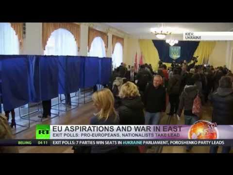 Poroshenko Bloc leads in Ukraine elex, 7 parties to enter Rada – exit polls