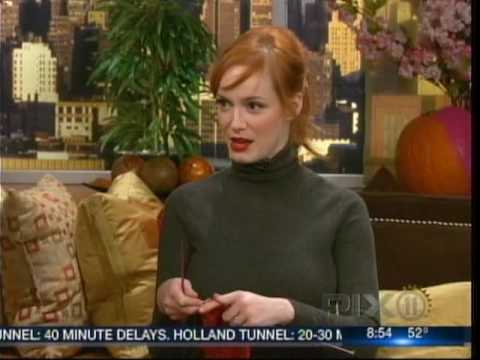 Christina Hendricks Interview - WPIX-TV
