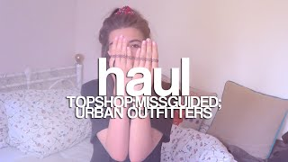 JESIENNY HAUL: Topshop; Missguided; Urban Outfitters