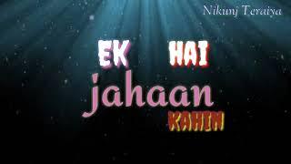 Chal wahan jaate hain WhatsApp status Create by Ni