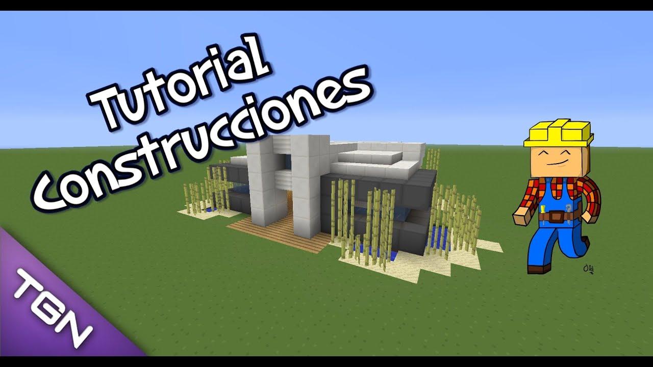 Minecraft casa moderna sencilla y compacta tutoriales for Eumaster casa moderna 8x8