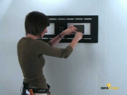 Wall Mount TV, HDTV Installation, Plasma LCD TV, Home Theater Recessed Pro-Power Kit Installation