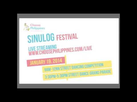 Sinulog Festival 2014 - Livestreaming on Choose Philippines
