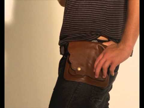 Leather Hip Bag uk Leather Hip Bags by Happy Cow