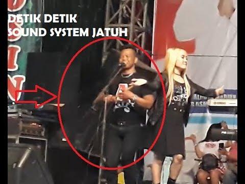 Detik detik Panggung ENY SAGITA Roboh Sound - Nitip Kangen Terbaru SAGITA Alun Alun Madiun